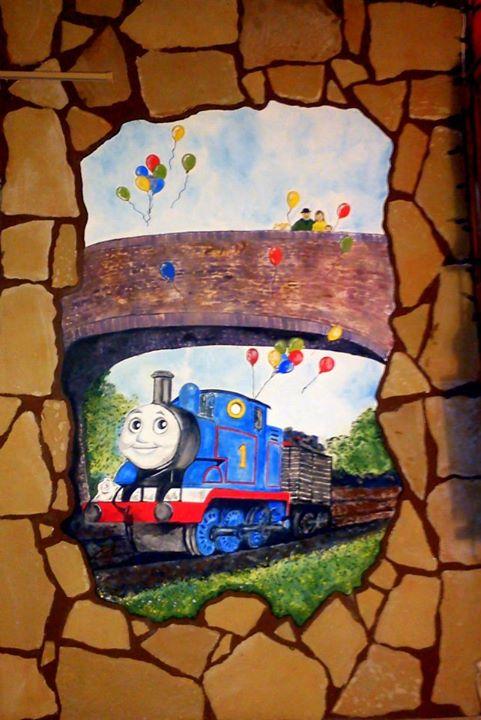 Mesefal a kedves Thomas vonattal