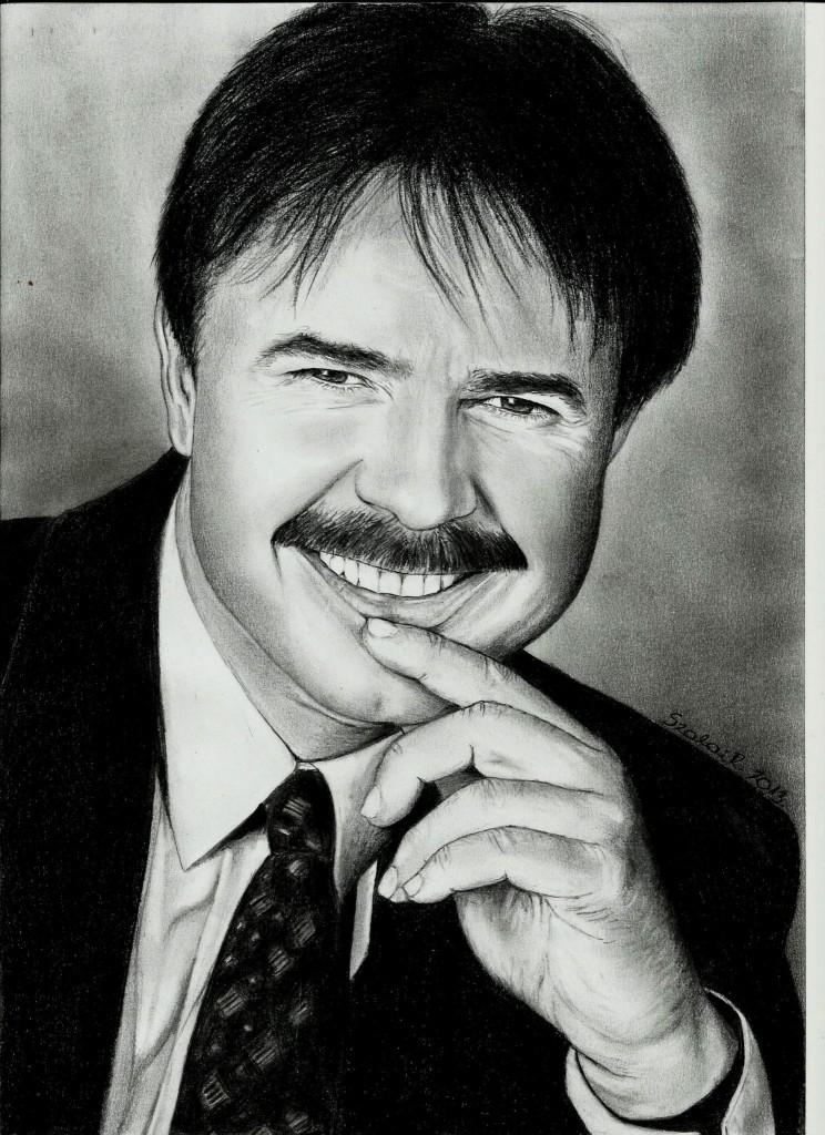 Grafika Maksa Zoltán portré
