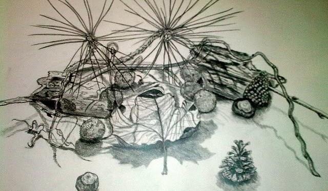 Találtam néhány régi tanulmány rajzot :)