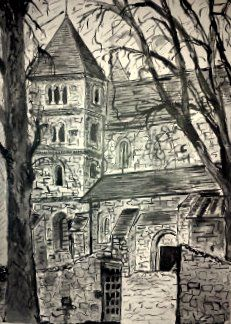 Tanulmányrajz: Ócsai Református műemléktemplom