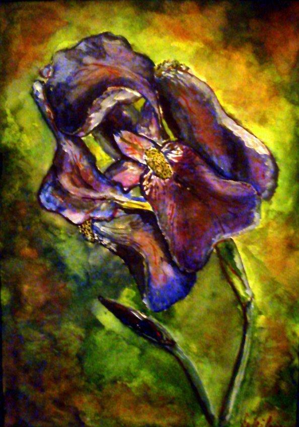 virág festmény