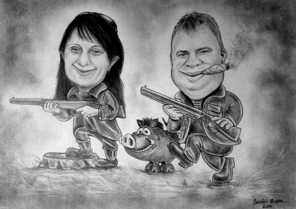 Karikatúra vadászoknak