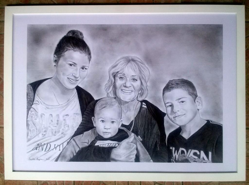 Ági néni és unokái